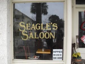 Hippies Use Side Door!