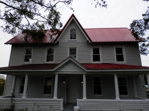 Front of Old Farm House